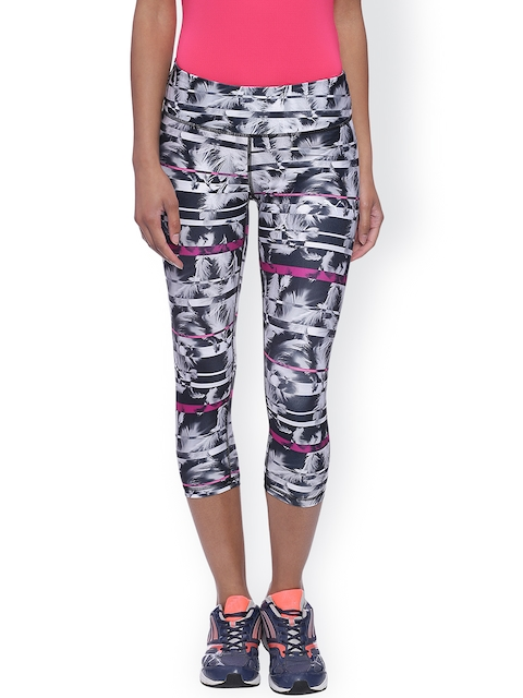 Puma Black Printed 3/4 Tights