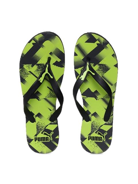 Puma Men Black Flip-Flops
