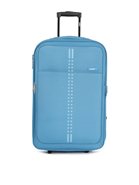 Safari Unisex Blue RAIL 2W 65 Medium Trolley Bag