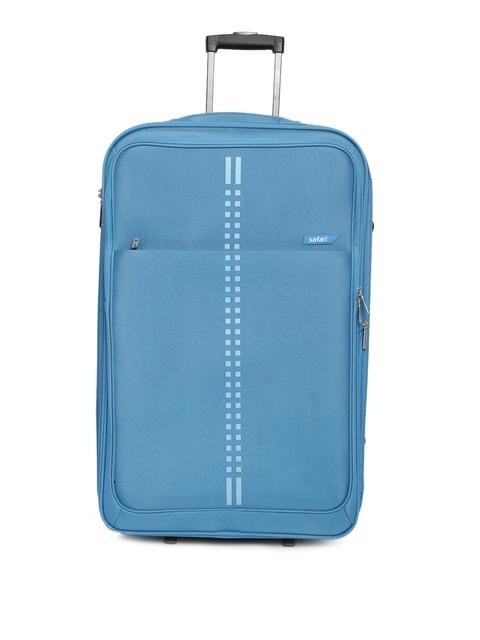 Safari Unisex Blue RAIL 2W 75 Large Trolley Bag