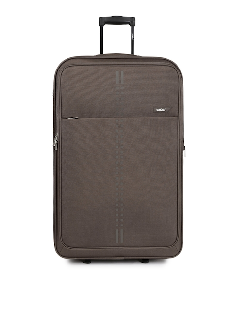 Safari Unisex Brown RAIL 75 Large Trolley Bag