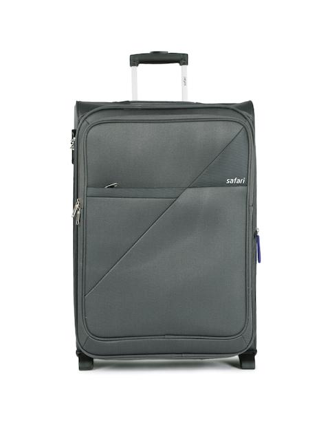 Safari Unisex Grey Blade Medium Trolley Bag