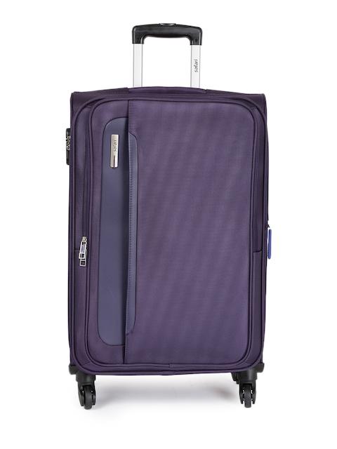 Safari Unisex Purple Cannes 4W 69 Medium Trolley Bag
