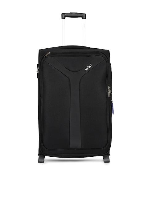 Safari Unisex Black Kayak Medium Trolley Bag