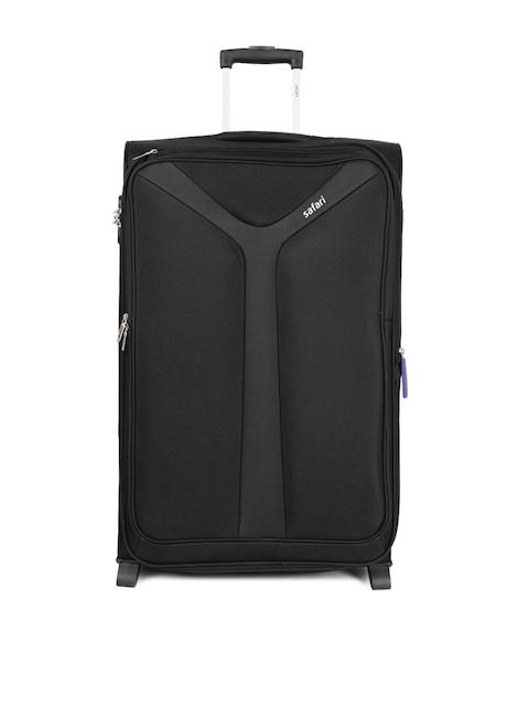 Safari Unisex Black Kayak Large Trolley Bag