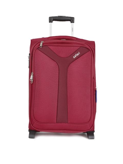 Safari Unisex Red Kayak 2W 55 Small Trolley Bag