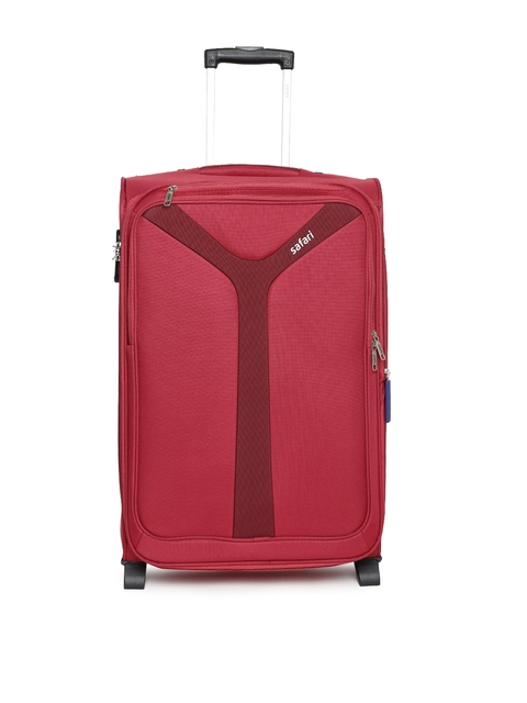 Safari Unisex Red Kayak 2W 65 Medium Trolley Bag