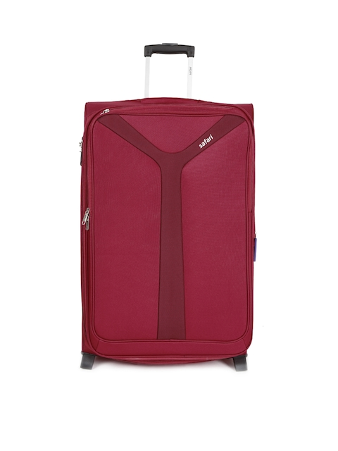 Safari Unisex Red Kayak 2W 75 Large Trolley Bag