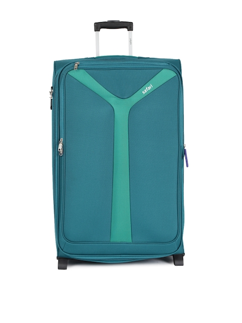 Safari Unisex Blue Kayak 75 EC Large Trolley Bag
