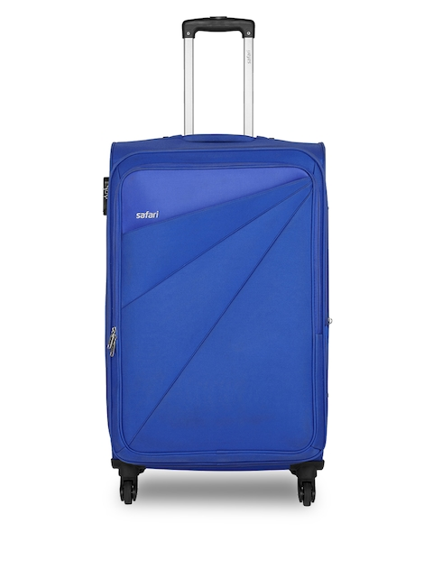Safari Unisex Blue Mimik Cabin Trolley Bag