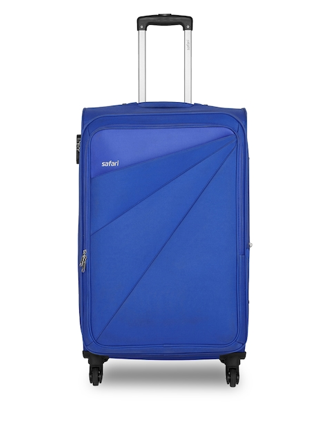 Safari Unisex Blue Mimik Large Trolley Bag