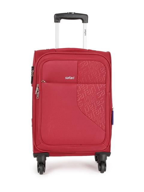Safari Unisex Red Badge Cabin Trolley Bag