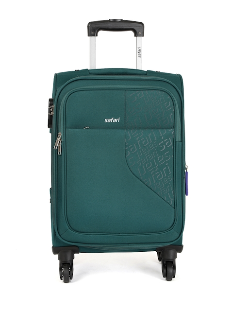 Safari Unisex Teal Green Badge 4W Cabin Trolley Bag