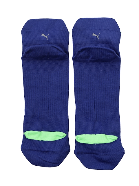 PUMA Men Blue Ankle-Length Socks