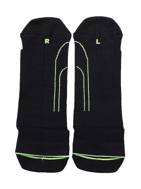PUMA Men Black Ankle-Length Socks
