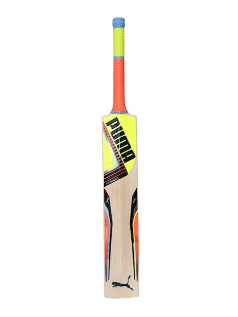 Puma Beige & Yellow evoSPEED 1 16 Cricket Bat
