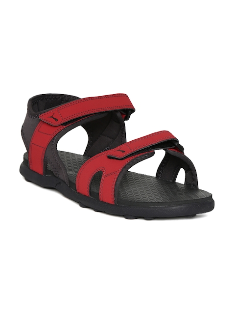 Puma Men Red Starry MU IDP Sports Sandals