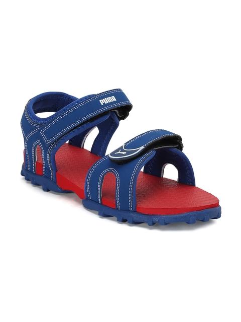 PUMA Boys Blue Track Jr DP Sports Sandals