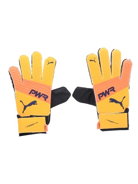 Puma Men Yellow evoPOWER Grip 4.3 Goalkeeper Gloves