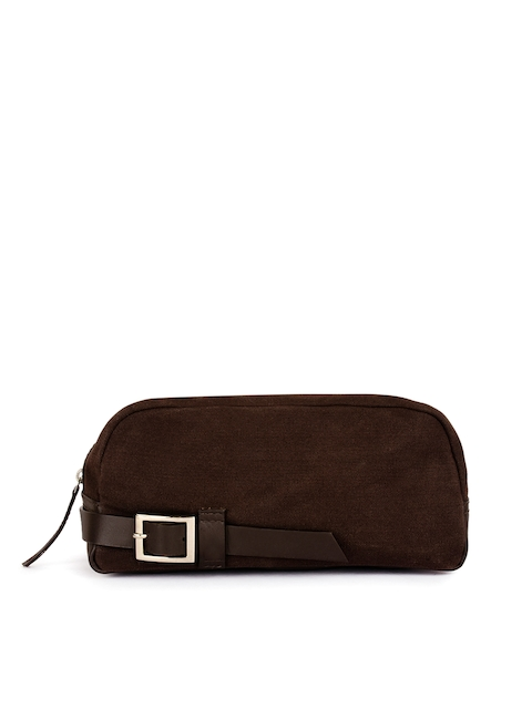 Phive Rivers Men Brown Travel Pouch