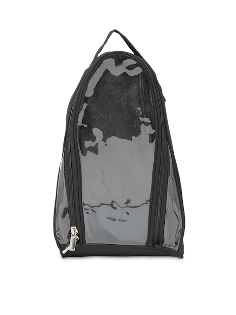 Bags.R.us Unisex Black Shoe Travel Bag