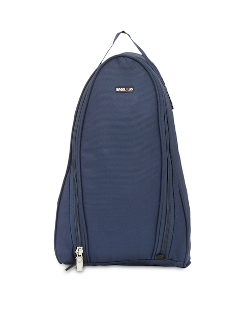 Bags.R.us Unisex Navy Shoe Travel Bag