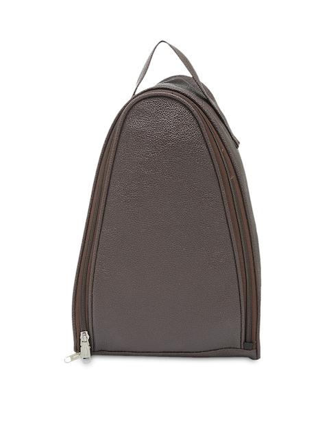 Bags.R.us Unisex Brown Shoe Bag