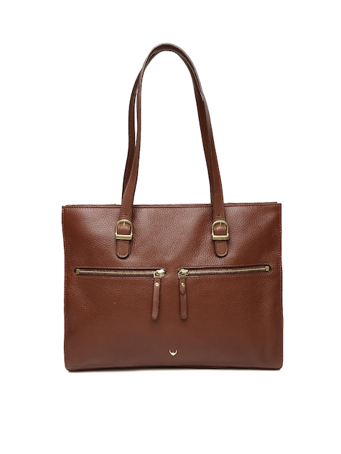 Hidesign Brown Shoulder Bag
