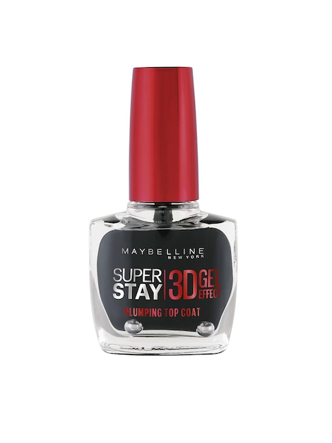 Maybelline Super Stay 3D Gel Topcoat 01 Nail Paint 10 ml