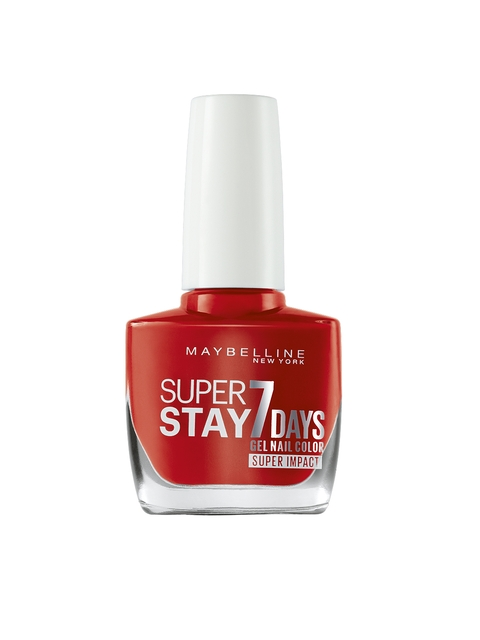 Maybelline Super Stay Impact 884 Nonstop Orange Nail Paint 10 ml