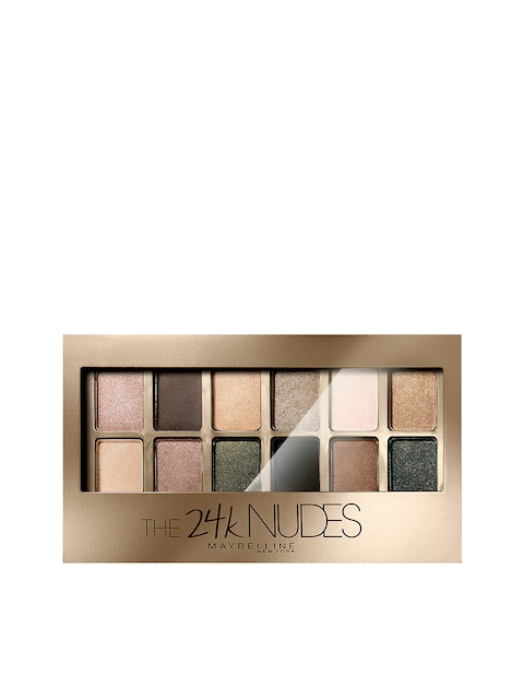 Maybelline New York The 24K Gold Nude Palette Eyeshadow 9g