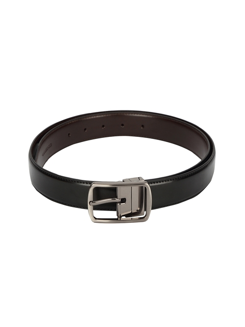 CHISEL Men Black & Brown Solid Reversible Belt