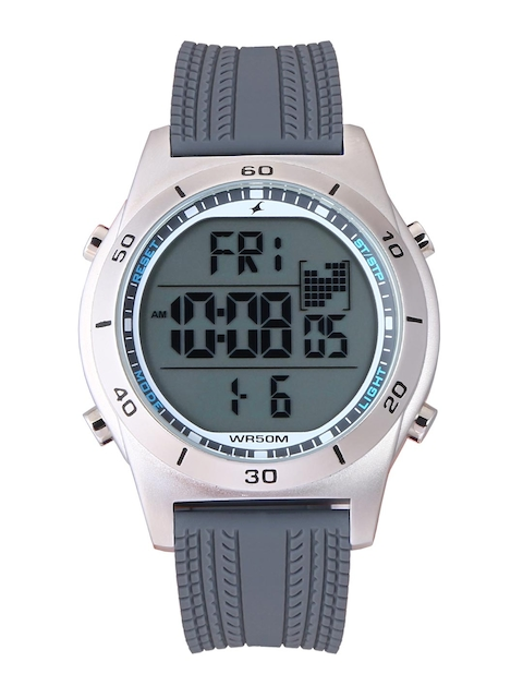 Fastrack 38033SP03J Grey Digital Men's Watch
