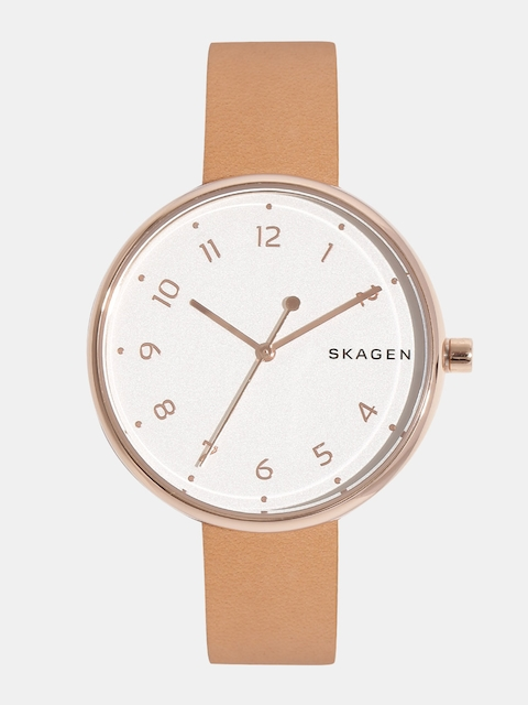 SKAGEN Women Cream-Coloured Analogue Watch SKW2624I