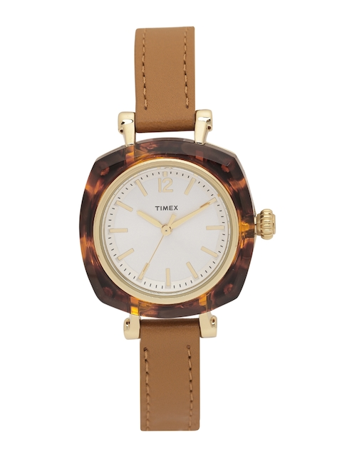 Timex Women Off-White Analogue Watch TW2P70000