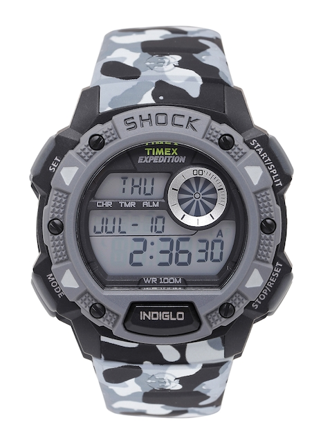 Timex TW4B00600 Expedition Grey Digital Men's Watch