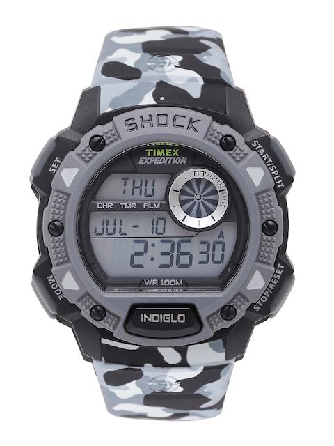 Timex Expedition Grey Digital Men's Watch, TW4B00600