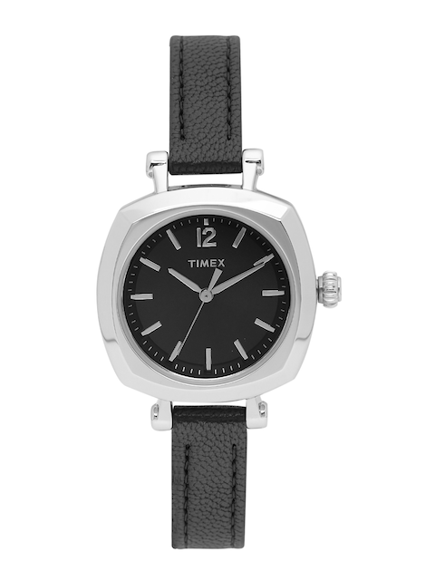 Timex Women Black Analogue Watch TW2P70900