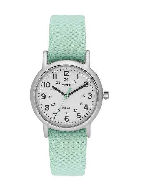 Timex Women White Analogue Watch T2P073