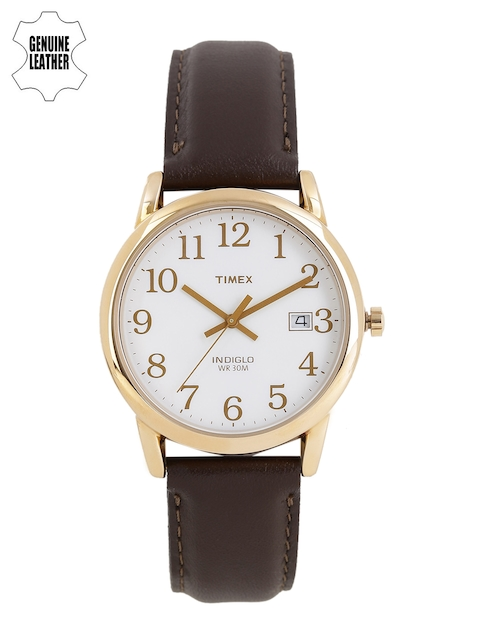 Timex Men White Indiglo Analogue Watch T2P563