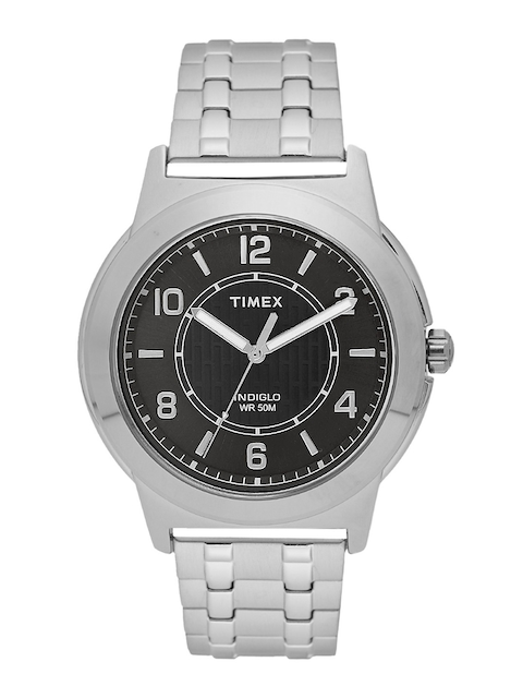 Timex Men Black Analogue Watch W2P61800