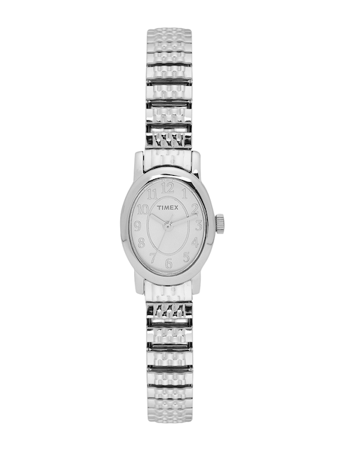 Timex Women Silver-Toned Analogue Watch TW2P60100