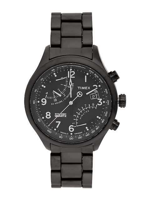 Timex Men Black Analogue Watch TW2P60800