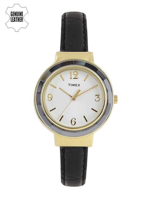 Timex Women Cream-Coloured Analogue Watch TWH2Z9810