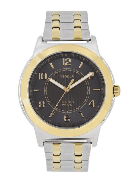 Timex Men Charcoal Grey Analogue Watch TW2P61900