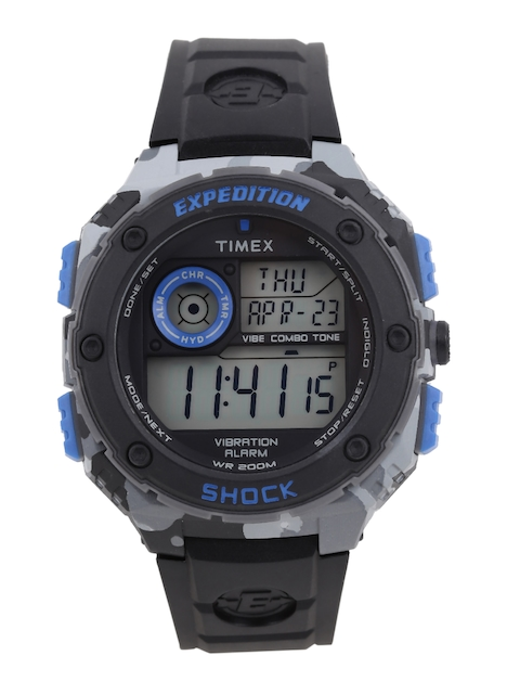 Timex Expedition Men Black Digital Watch TW4B00300