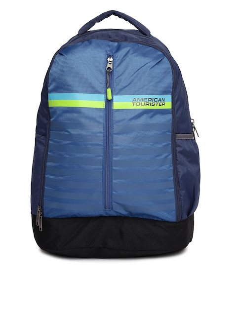 AMERICAN TOURISTER Unisex Blue AMT PING Backpack