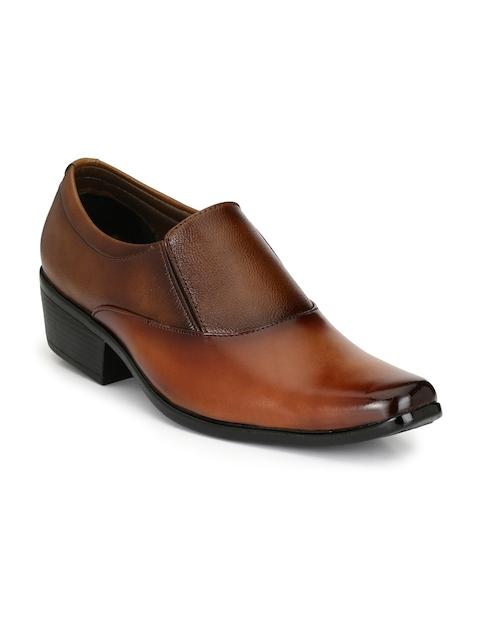 Sir Corbett Men Tan Brown Formal Shoes