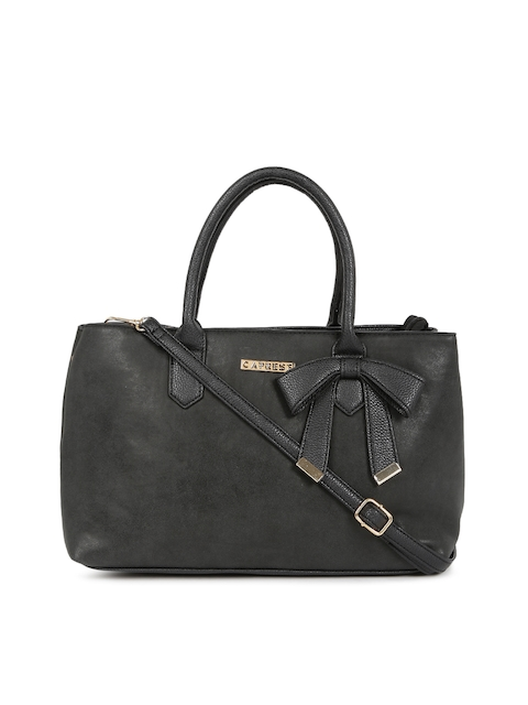 Caprese Black Handheld Bag