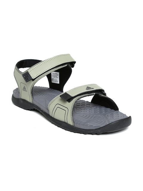 Adidas Men Olive Green Gempen Sports Sandals  available at myntra for Rs.1319